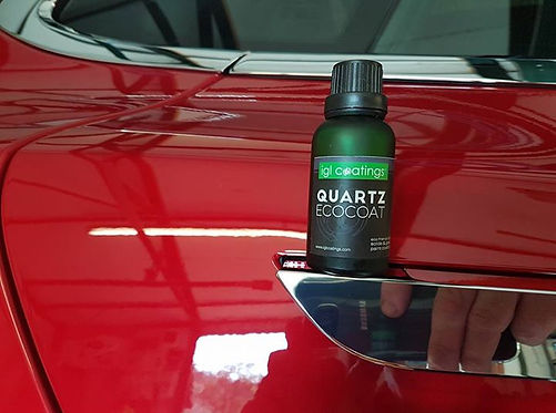 Tesla model S, new car protection again using IGL Quartz