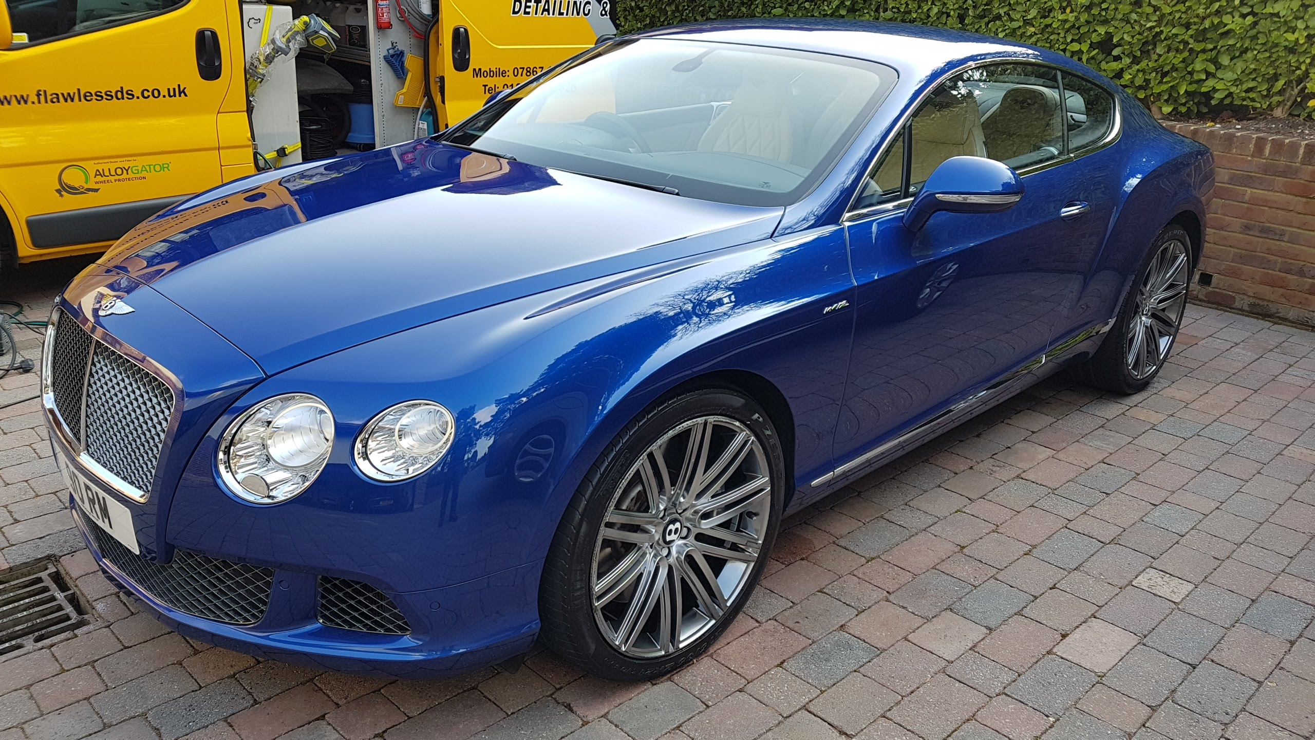 #bentley #continentalgt #sandbanks #maintenancevalet