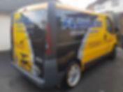 The #Flawless Detailing Solutions #work van