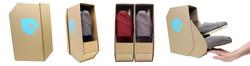 Functional shoe box