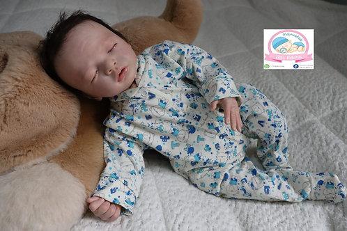 Bebê Reborn Menino de pijama