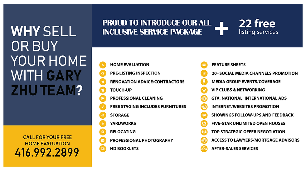 our inclusive service package + 22 free listing service