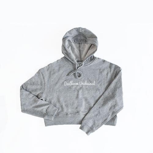 Crop Grey Hoodie