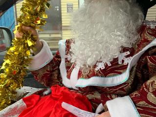 Дед Мороз и Снегурочка едут в гости! Мы благодарны помощникам!