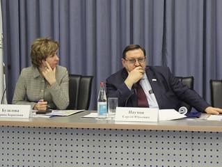 В Саратове состоялось очередное заседание Координационного совета по организации работы с социально