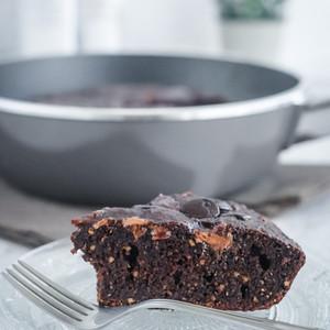 Brownie de Sartén sin Culpas