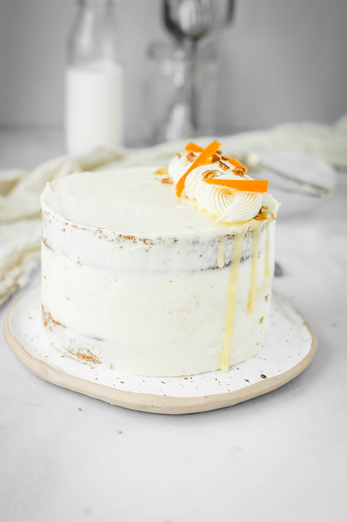 Torta de Zanahoria y Cheesecake Grande