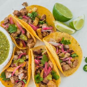 """Tacos al Pastor"" en Air fryer"