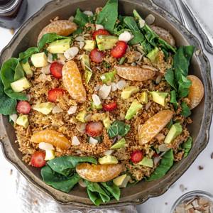 Ensalada de Quinoa Crocante