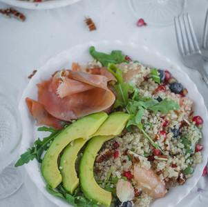 Mi Ensalada de Quinoa Favorita