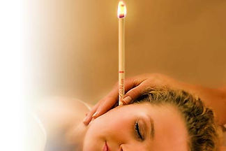 ea candling relax oils massage ears