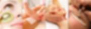 facial waxing lashes brows massage gel nails