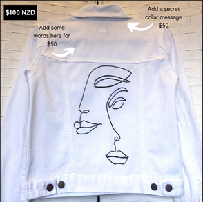 Two Faced $100   Buy the jacket $125