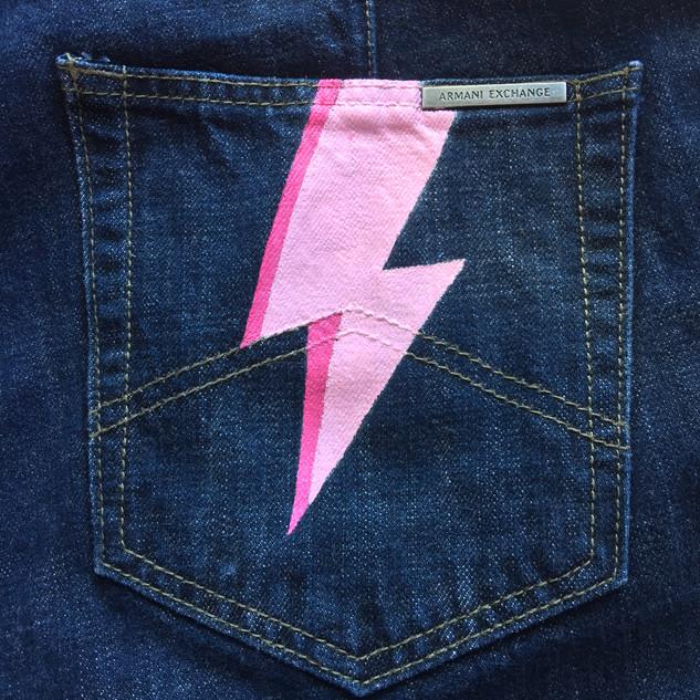 Pink Lightening Pocket  $65NZD