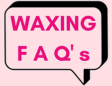 waxing FAQ ask a question about waxing