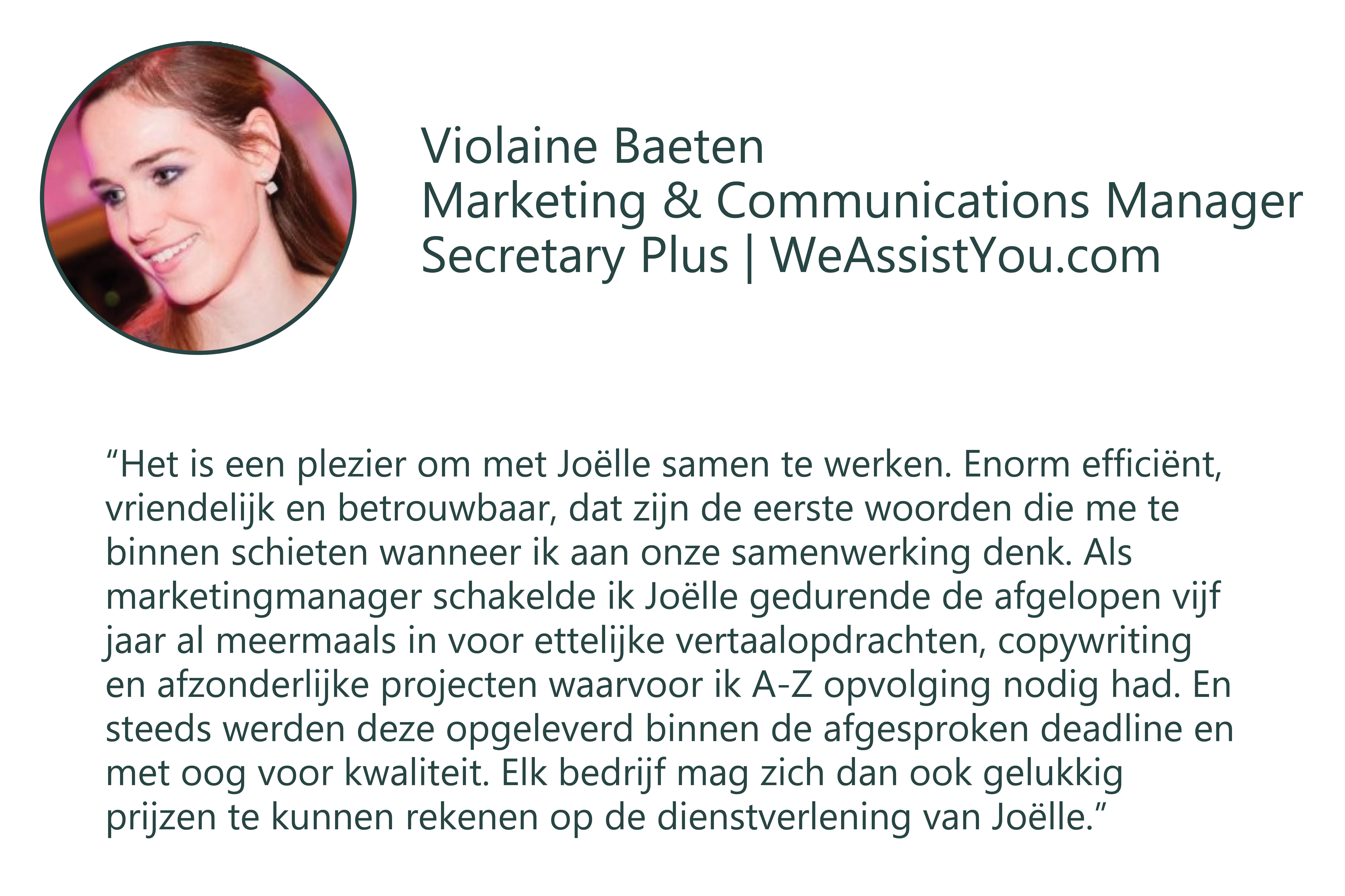 Testimonial Violaine nl
