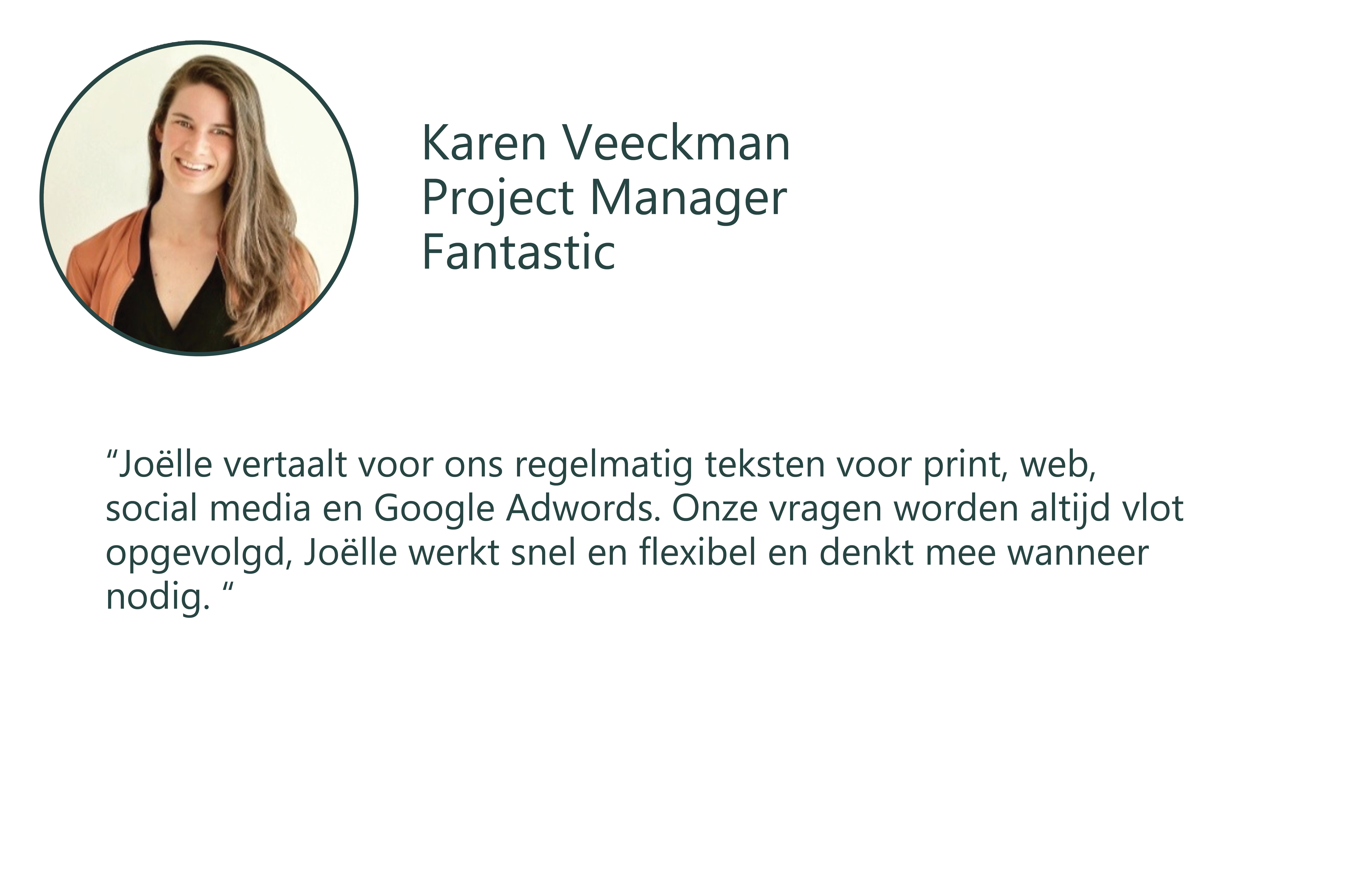 Testimonial Karen nl