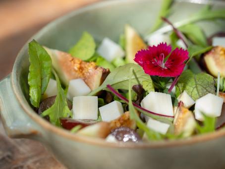Salada de Mini Folhas com Guariroba