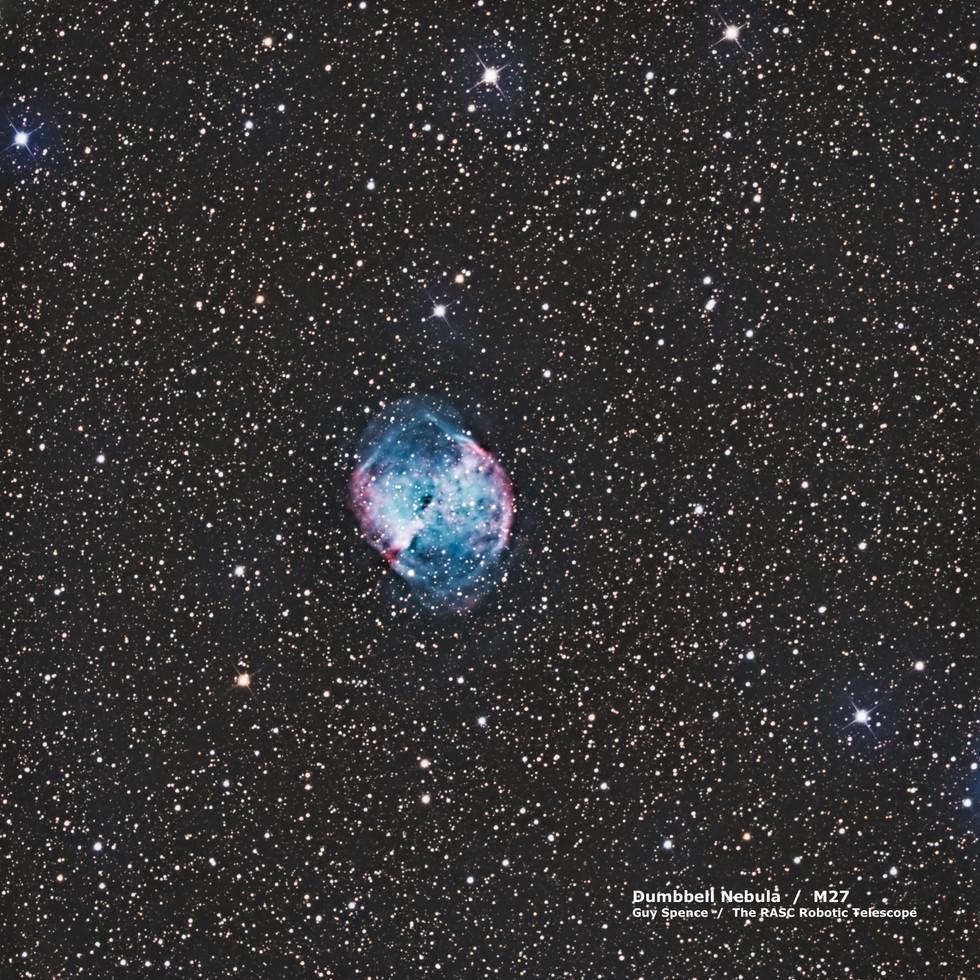 Dumbbell Nebula  /  M27