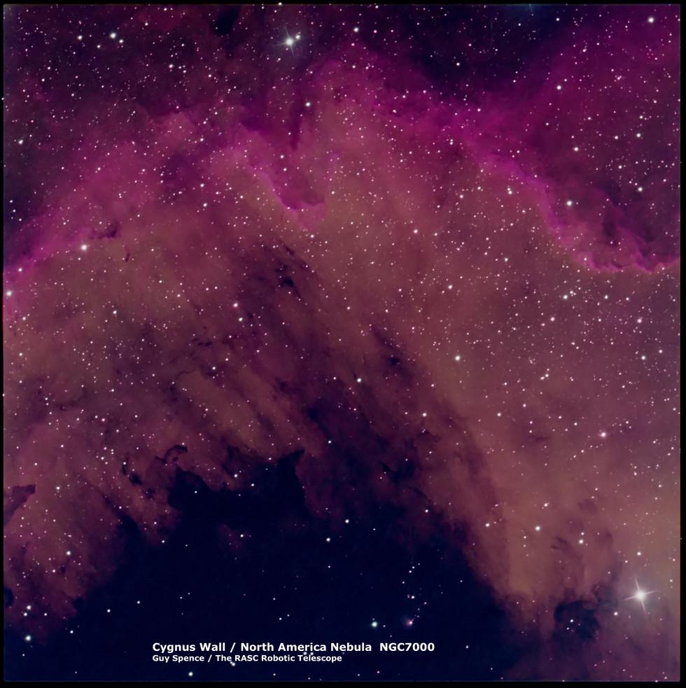 Cygnus Wall - NGC 7000