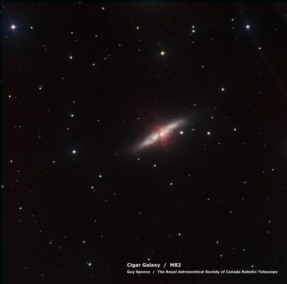 Cigar Galaxy - M82