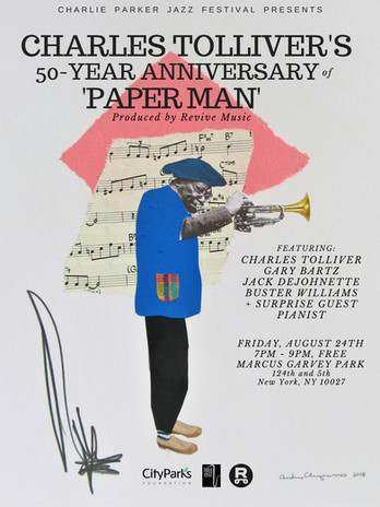 CPJF Paper Man Poster