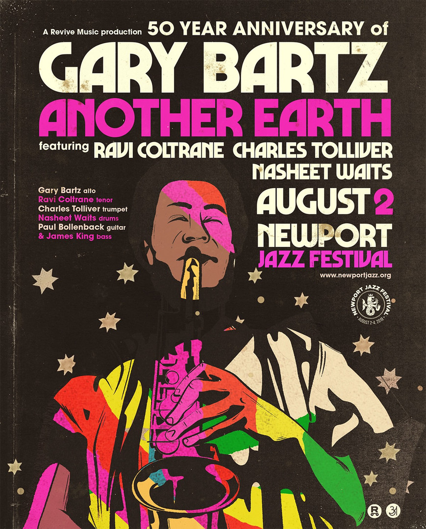 8.2.19 Newport Jazz Fest Another Earth 2