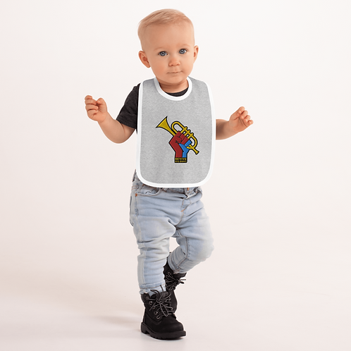 RBB Embroidered Baby Bib