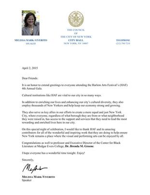 Melissa Mark-Viverito Support Letter.jpg