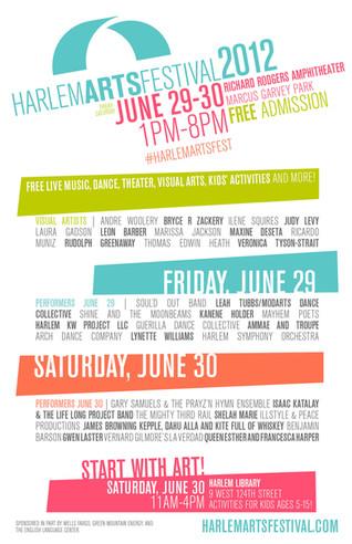 HAF 2012 Official Poster