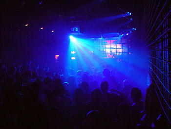 Autumn 2005 in Vienna. Berlin's Ellen Allien m...