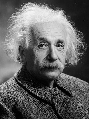 English: Albert Einstein Français : Portrait d...