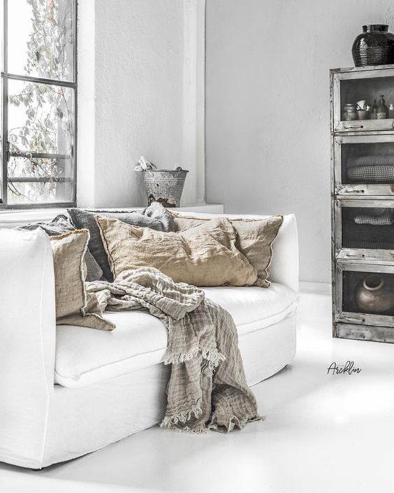 Nothing Says Luxury Like White Linen Sofas