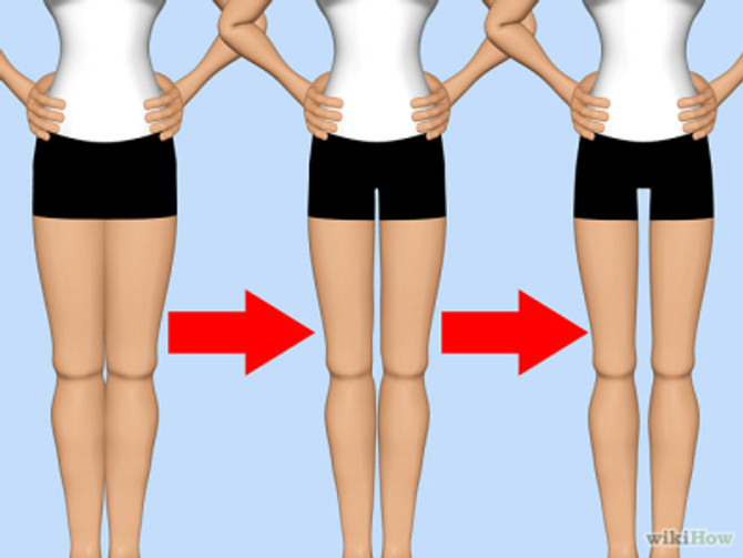The Middle Aged Thigh Gap