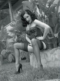 English: Dita Von Teese photographed by Steve ...