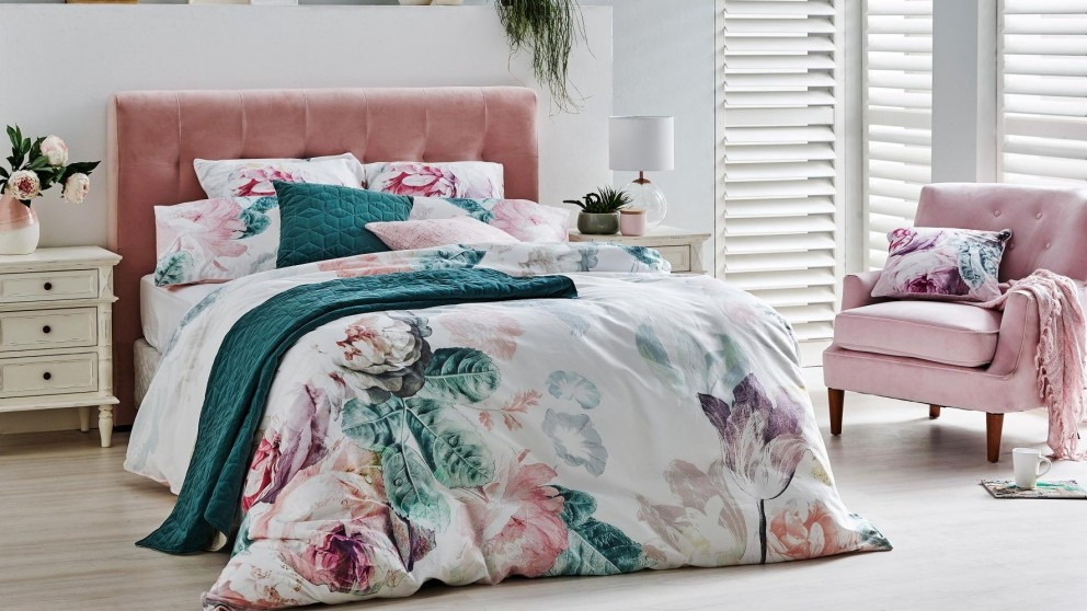 Coral headboard from Harvey Norman