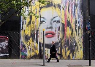Kate Moss by Mr Brainwash (Thierry Guetta), Ne...