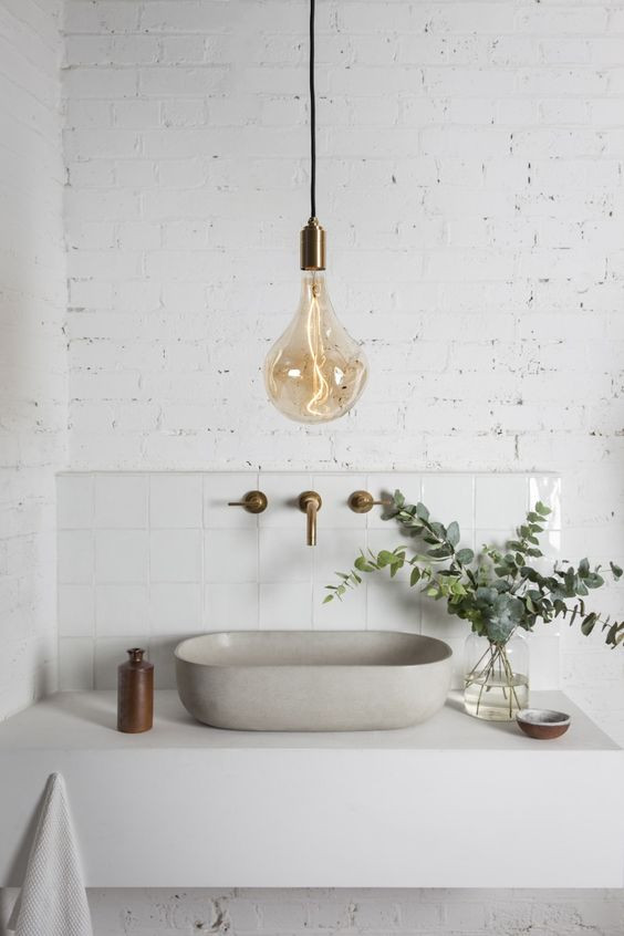 Less is nearly always more. Photo credit: Pinterest/Tala Lighting