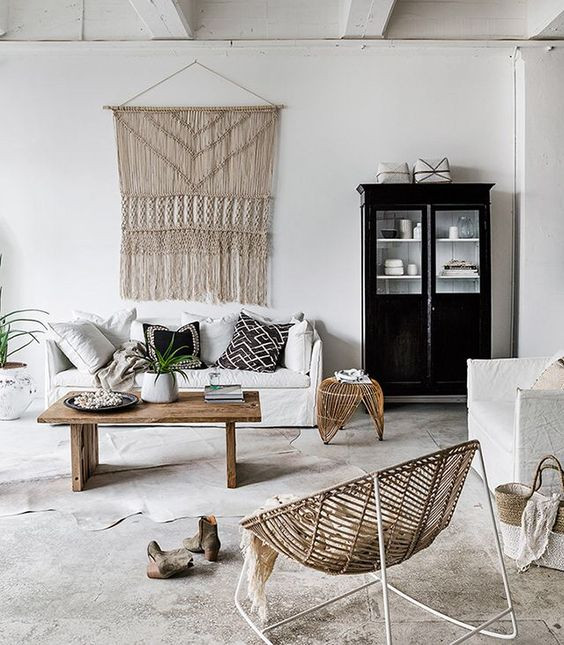 Rattan, wicker and cane are perfect sustainable materials to use in the home.