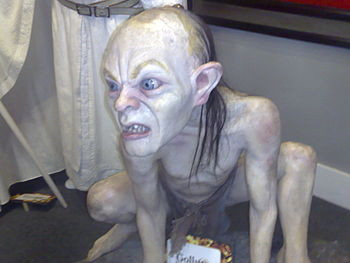 English: Gollum sculpture at Wax Museum in Mex...
