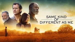 Same Kind Of Different As Me promotional poster showing main cast