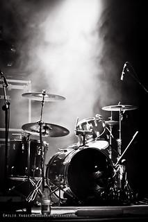 Lonely drum kit
