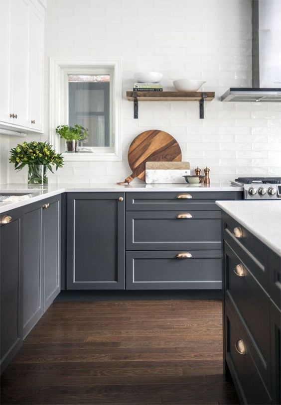 Image of beautiful, styled kitchen