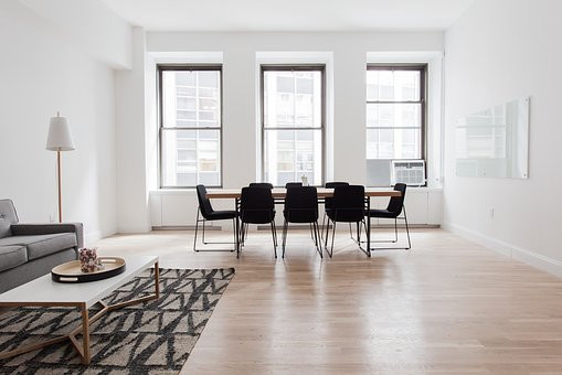 Timber floors exude warmth and accentuate space