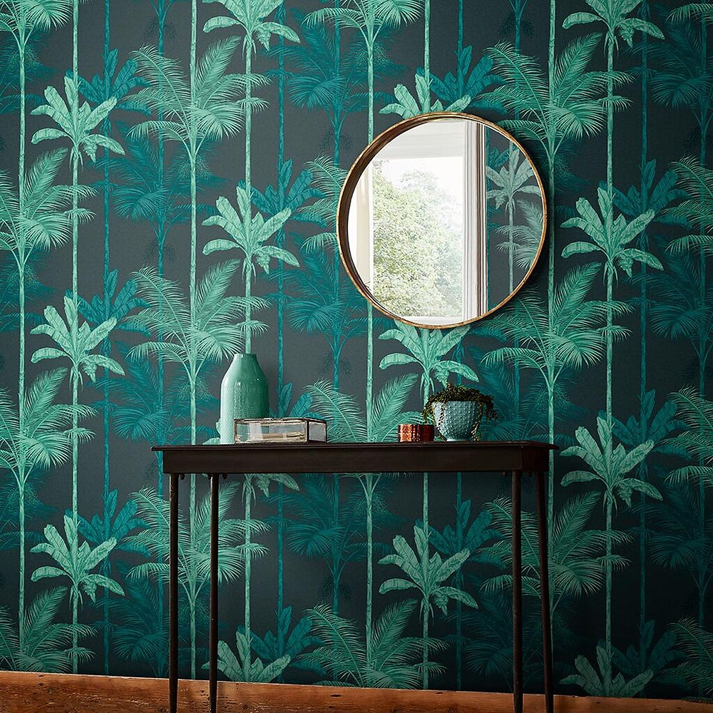 Graham & Brown Jungle Green wallpaper