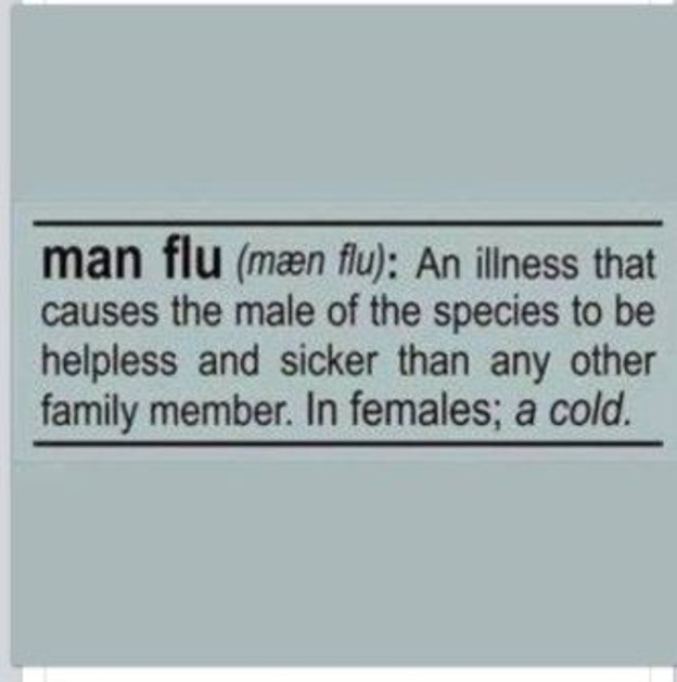 Definition of Man Flu