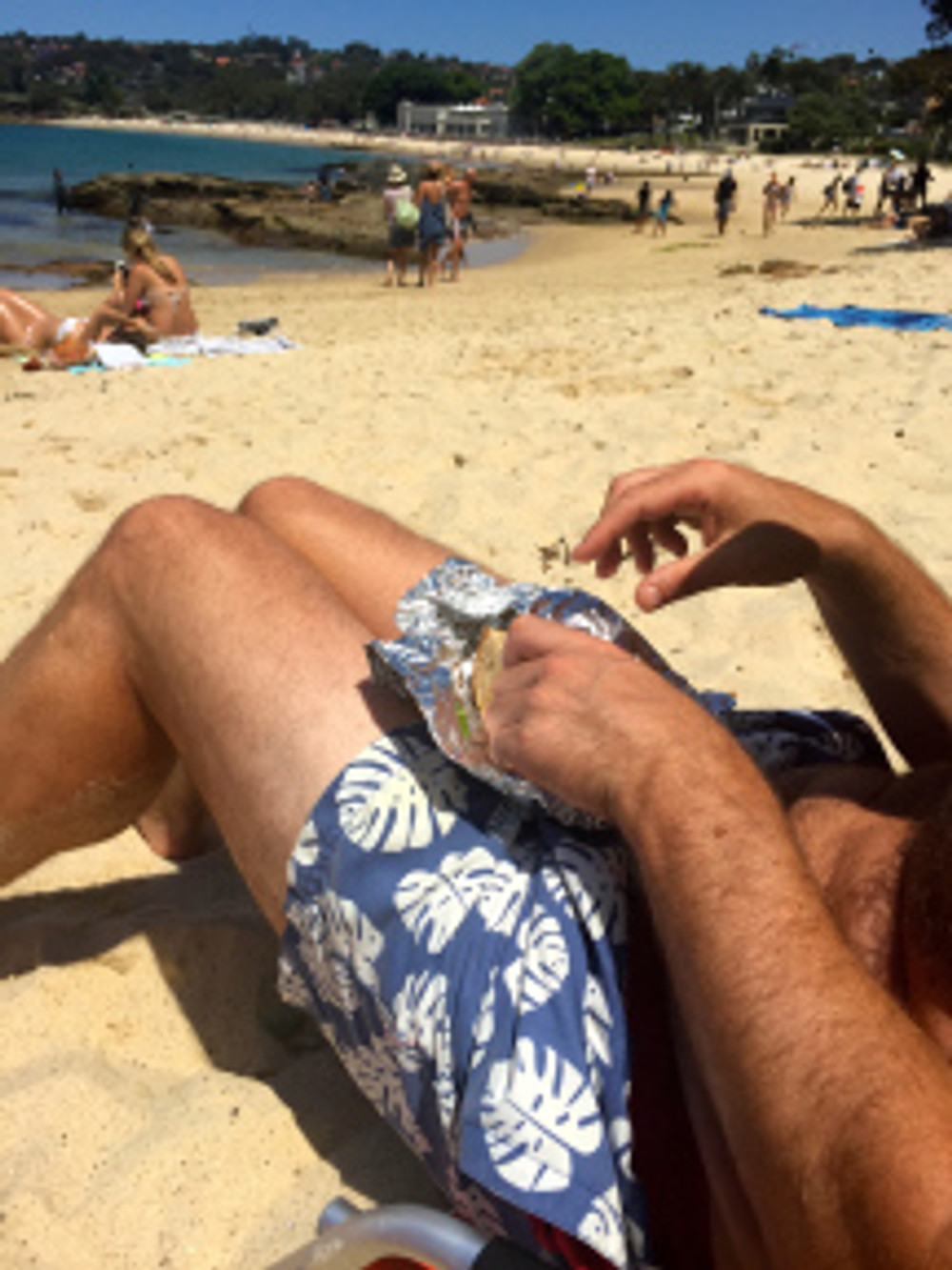 Nailing The Middle-Aged Beach Routine