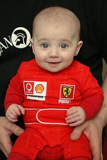 Baby Rubens Barrichello