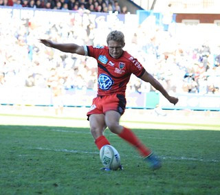 Jonny Wilkinson (Toulon) penalty kick in the H...