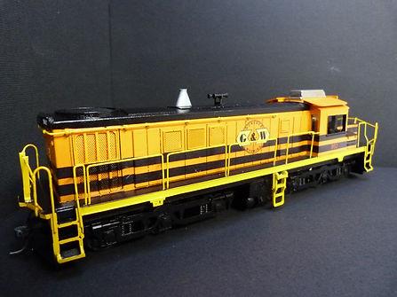HO Scale locomotive